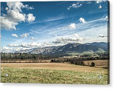 Acrylic Print featuring the photograph Sleeping Giants In Cades Cove by Debbie Green