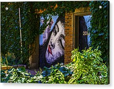 Sleeping Lady No Watermark Acrylic Print by Raymond Kunst