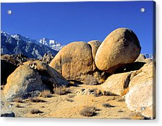 Sleeping Rock Alabama Hills Acrylic Print
