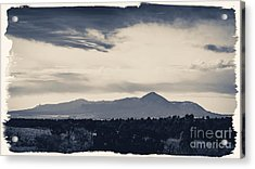 Sleeping Ute Mountain Acrylic Print