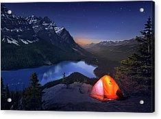 Sleeping With The Stars Acrylic Print