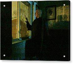 Sleepless Nights Acrylic Print by Guy Ricketts