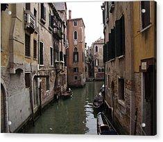 Sleepy Afternoon In Venice Acrylic Print