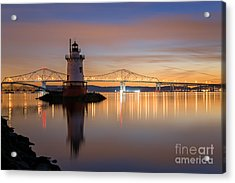 Sleepy Hollow Light Reflections  Acrylic Print