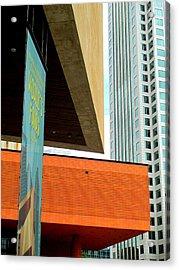 Slice Of Sky Acrylic Print by Randall Weidner