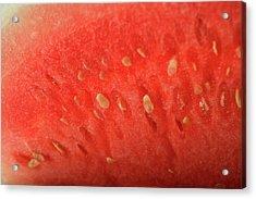 Slice Of Watermelon (detail) Acrylic Print