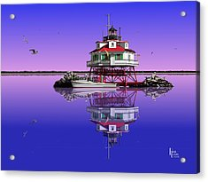 Slick Cam At Thomas Point Acrylic Print by Patrick Belote