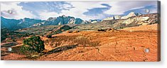 Slickrock, Snow Canyon State Park Acrylic Print by Panoramic Images