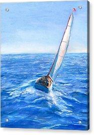 Slip Away Acrylic Print by Jack Skinner