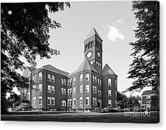Slippery Rock University Old Main Acrylic Print by University Icons