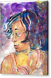 Sloane Acrylic Print by Ramona Wright