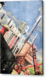 Sloss Furnace Acrylic Print by Davina Washington