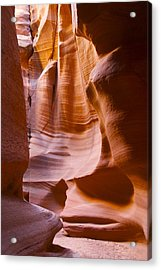 Slot Canyon 3 Acrylic Print by T C Brown