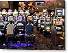 Slot Machines Acrylic Print by Bildagentur-online/mcphoto-schulz