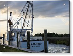 Acrylic Print featuring the photograph Slow An Easy by Gregg Southard
