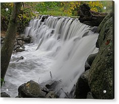 Acrylic Print featuring the photograph Slow Fall by Nikki McInnes