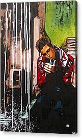 Slow Night For Tyler Acrylic Print by Bobby Zeik