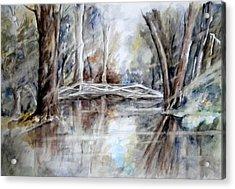 Slow Waters Acrylic Print