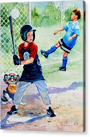 Slugger And Kicker Acrylic Print by Hanne Lore Koehler