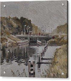 Sluice 3 Tilburg Acrylic Print
