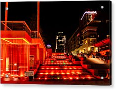 Smale Park At Night Acrylic Print