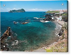Small Bay And Islet Acrylic Print by Gaspar Avila