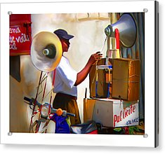 Acrylic Print featuring the digital art Small Business by Bob Salo
