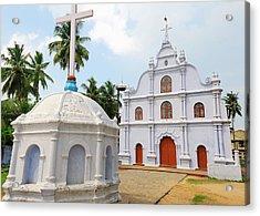 Small Church, Kochi (cochin Acrylic Print