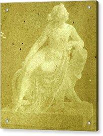 Small Copy Of Heinrich Danneckers Image Ariadne Auf Dem Acrylic Print by Artokoloro