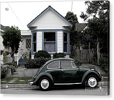 Small House With A Bug Acrylic Print by James B Toy