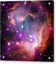 Small Magellanic Cloud Acrylic Print