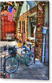 Small Town America Acrylic Print