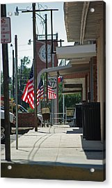 Small Town America Acrylic Print by Robyn Stacey