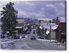 Acrylic Print featuring the photograph Small Town America by Sherri Meyer
