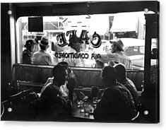 Small Town Cafe, 1941 Acrylic Print by Granger