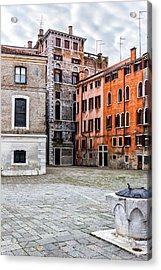Small Venetian Square Acrylic Print