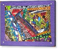 Small Wonder Acrylic Print by Aisha Lumumba