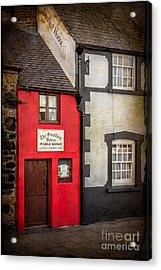 Smallest House Acrylic Print by Adrian Evans