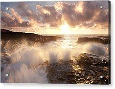 Smashing Sunset Acrylic Print