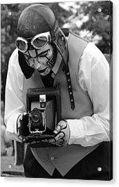 Smile For The Camera Acrylic Print by Kym Backland