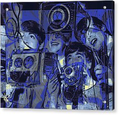 Smile For The Camera Acrylic Print by Russell Pierce