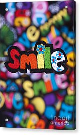 Smile Acrylic Print by Tim Gainey