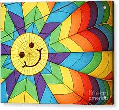 Smiley Face Balloon Acrylic Print