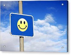 Smiley Acrylic Print