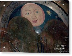 Acrylic Print featuring the photograph Smiling Moon by Lyric Lucas