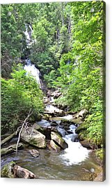 Smith Creek Downstream Of Anna Ruby Falls - 3 Acrylic Print