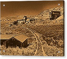 Smith Mine Acrylic Print by Leland D Howard