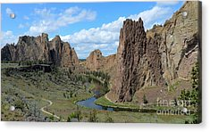 Smith Rocks Acrylic Print