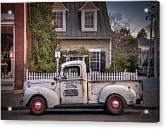 Smithfield Truck Acrylic Print by Williams-Cairns Photography LLC