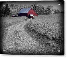 Smithsburg Barn Acrylic Print
